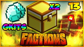 """""""DOUBLE GODLY CHEST OPENING"""" (GKIT) Minecraft Factions Cosmic Pvp #13"""