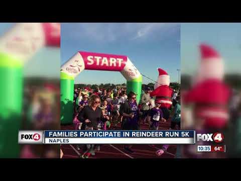 Families Participate in Reindeer Run 5k