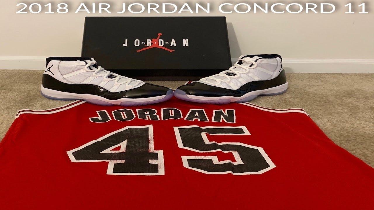 d28eb7a14ff Jordan 11 concords - YouTube
