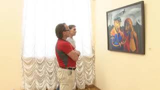 Мадонна глазами Таджикских художников: в Радищевском музее открылась выставка ''Дорога домой''