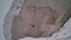 Kosteusvaurioita Opastinsilta 2:n 8.kerroksen katossa (HOAS talo)
