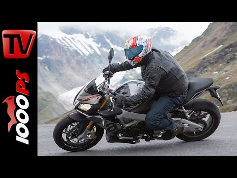 Aprilia Tuono V4 1100 Factory vs. Tuono RR Test | High Bike Testcenter Paznaun