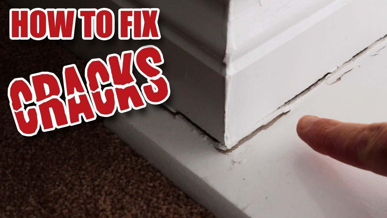 How to Fill Cracks around Window Sills