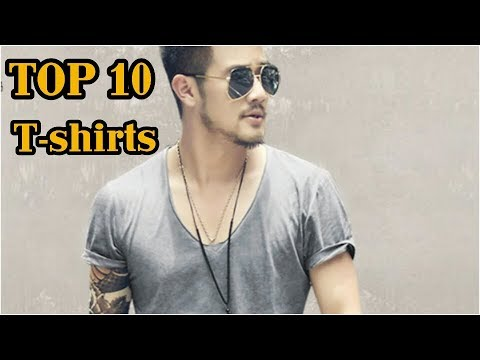 Top 10 Men's T-shirts   Under ₹500/-   2018