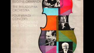 Vivaldi-Concerto for 2 Violins, Strings and Continuo in g minor RV 517 (P. 366) (Complete)