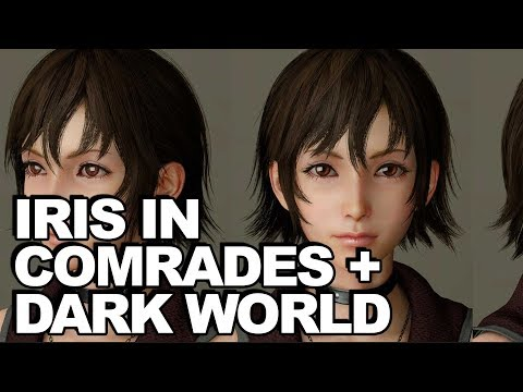 Demonslayer Iris In Final Fantasy XV Comrades; Dark World Story + Lowering Difficulty