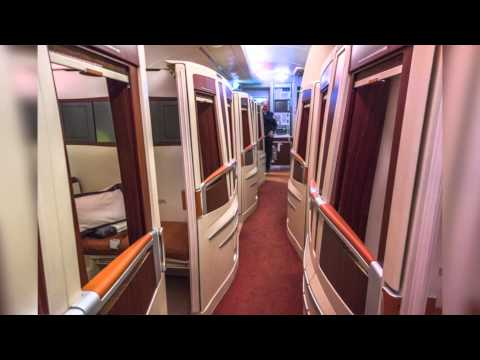 Flying High in Serious Luxury on Singapore Airlines 'Suite Class'