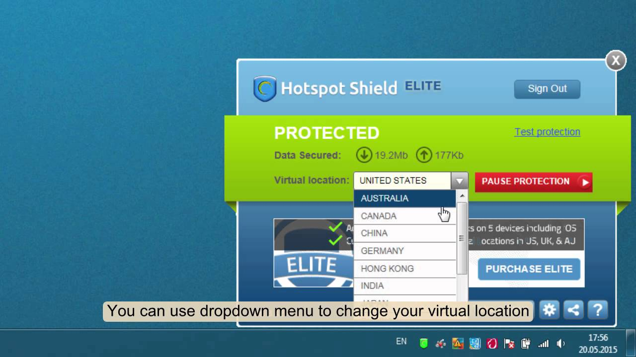 Hotspot shield apk how to use