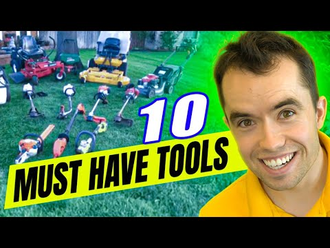 BEST Landscape Tools And Equipment To Save You Time And Money In Your Lawn Care Business