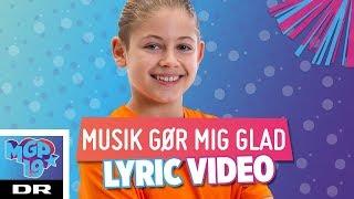 Elio - Musik gør mig glad (LYRIC) | MGP 2019