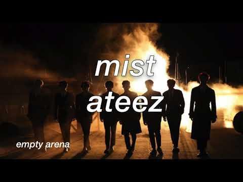 Ateez' Mist In An Empty Arena