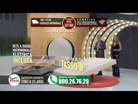 Vendita Materassi In Tv.Materasso Visto In Tv Offerta Marion Revolution Materasso E Rete 249