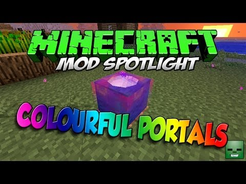 1 6 4] Colourful Portals Mod Download | Minecraft Forum