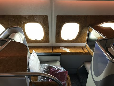 Emirates Business Class A380 to Dubai | CDG-DXB