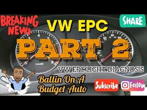 Epc Light Vw Jetta >> Volkswagen Epc Light Diagnosis Part 2 Top 5 Most Common Epc Light Issues