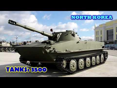 Top 10 Special - NORTH KOREA VS SOUTH KOREA Military Power Comparisons