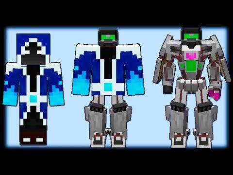 Как Стать Роботом Трансформером в Майнкрафт? - Transformers Mod - Видео из Майнкрафт (Minecraft)