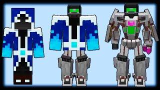 Как Стать Роботом Трансформером в Майнкрафт? - Transformers Mod