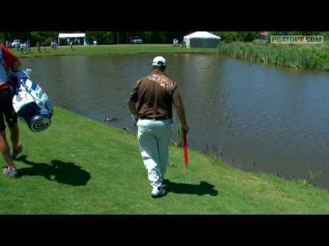 Boo Weekley's Gator Call: 4th hole Round 2 of Zurich Classic 2011