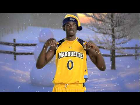 Merry Christmas from Marquette Basketball