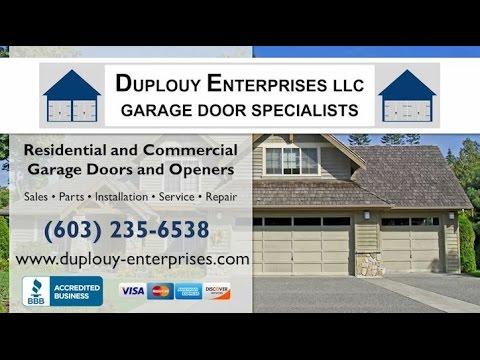 Duplouy Enterprises, LLC | Dover NH Garage Door Dealers