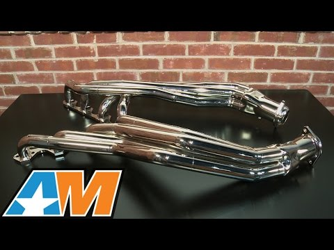 Mustang BBK Chrome Long Tube Headers 1-5/8
