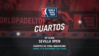 DIRECTO - Cuartos de Final Masculina HP XCam Sevilla 2016 | World Padel Tour