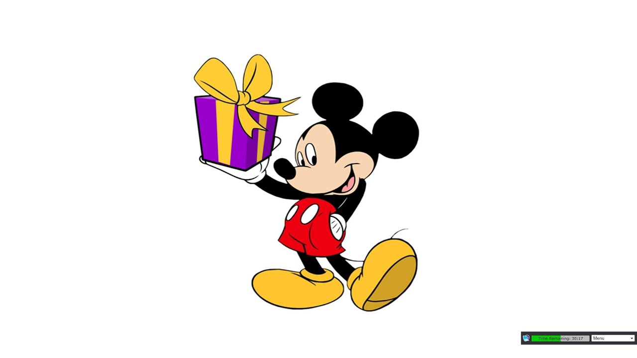 lemons 60 second shot happy birthday mickey mouse