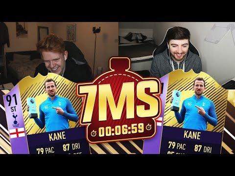 91 POTM HARRY KANE 7 MINUTE SQUAD BUILDER!! - FIFA 18 ULTIMATE TEAM!!