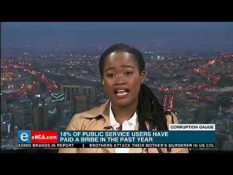 South Africans believe corruption is increasing in the count