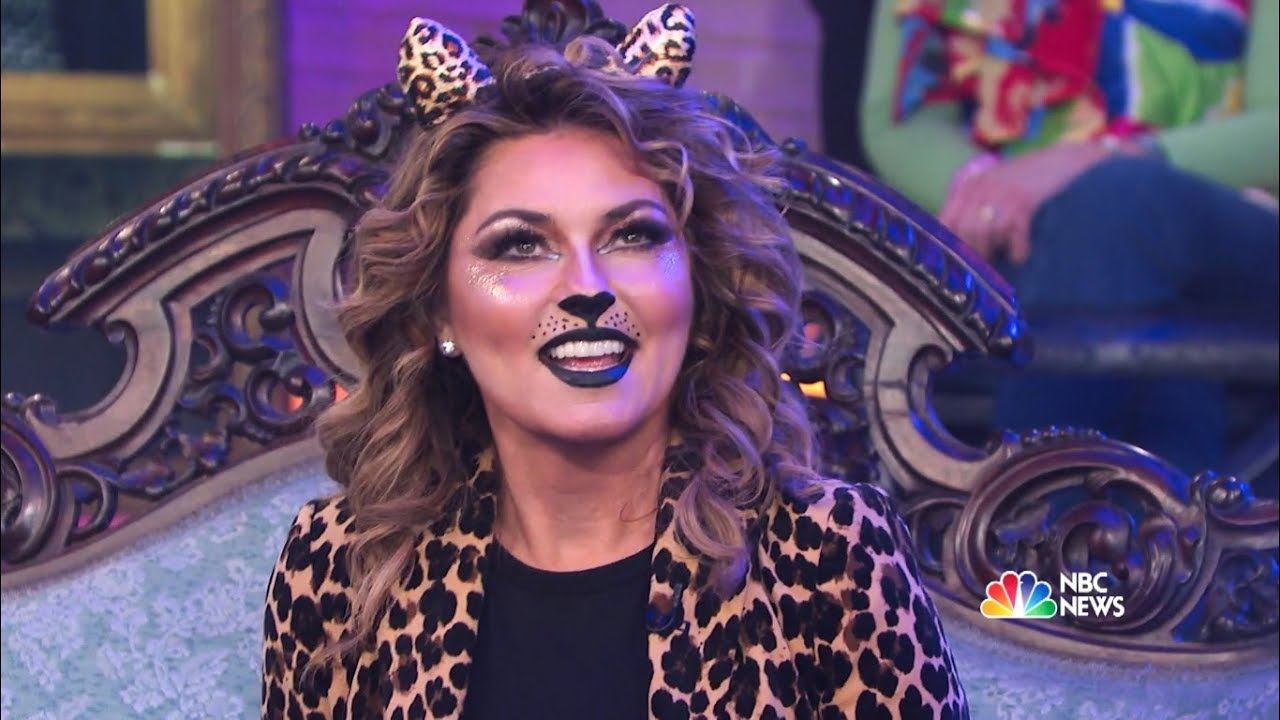 Shania Twain - Megyn Today Interview at Halloween Party - Oct 31 ...