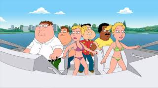 Family Guy Party Bus Speed Boat Accident