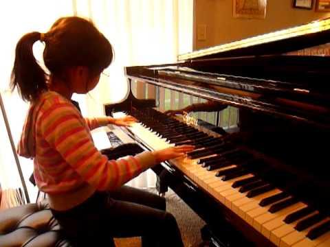 "Kiho Plays ""Solfeggietto"" By C.P.E. Bach with Boston Grand Piano 178"