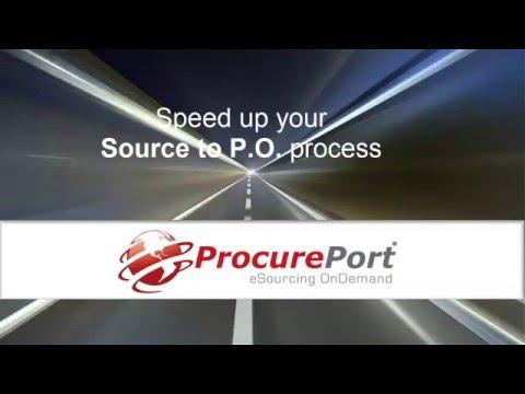 ProcurePort eSourcing Video
