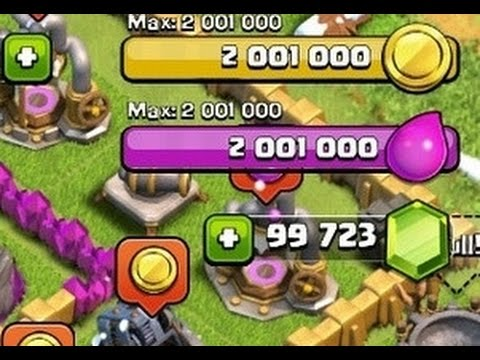 CLASH OF CLANS WORKING GEM GLITCH MARCH 2015!!!!!!!!!!!