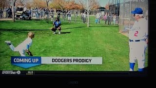 Baseball kid Christian Haupt - Dodgers Prodigy Documentary