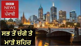 Most liveable cities in the world: BBC News Punjabi