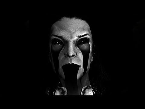Skyrim Mods - Banishing The CREEPY Spirit in an EPIC BOSS BATTLE!