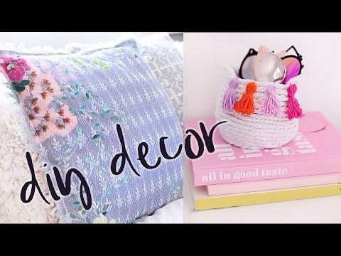 DIY Summer Room Decor Ideas 2017 | Colourful Home Decor DIYs