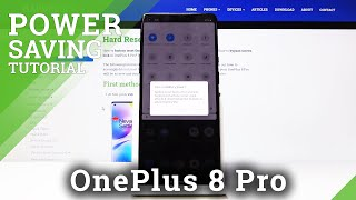 How to Enable Power Saving Mode in OnePlus 8 Pro – Save Battery screenshot 1
