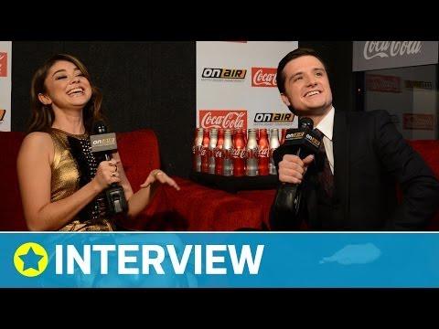 Josh Hutcherson Talks Kissing Jennifer Lawrence | Interview | On Air with Ryan Seacrest
