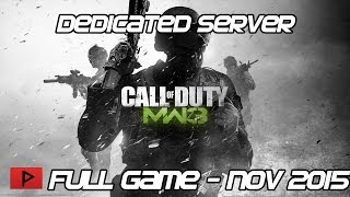 [How To] Patch COD MW3 Steam Dedicated Tools Properly For Online Play (Nov.  2015 Update)