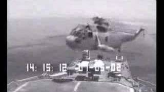 Sea King crash