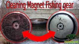 How to Clean Magnet Fishing gear