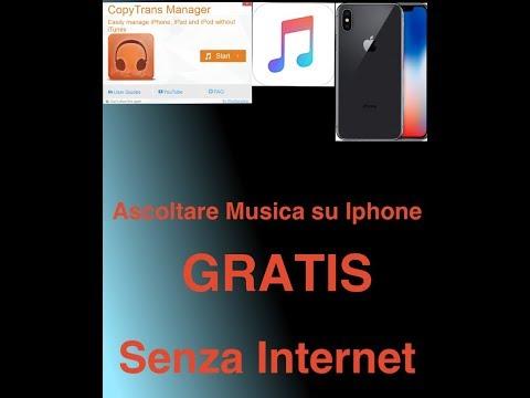 Ascoltare musica gratis su iphone