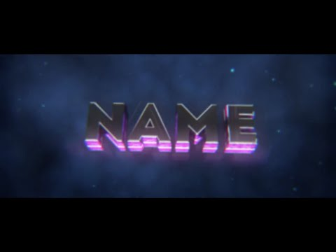 FREE Purple Glowing Sync Intro Template #181 | Cinema 4D Template + FULL Tutorial