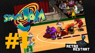 Space Jam - Space Race - Let's Play Playstation! Part 1