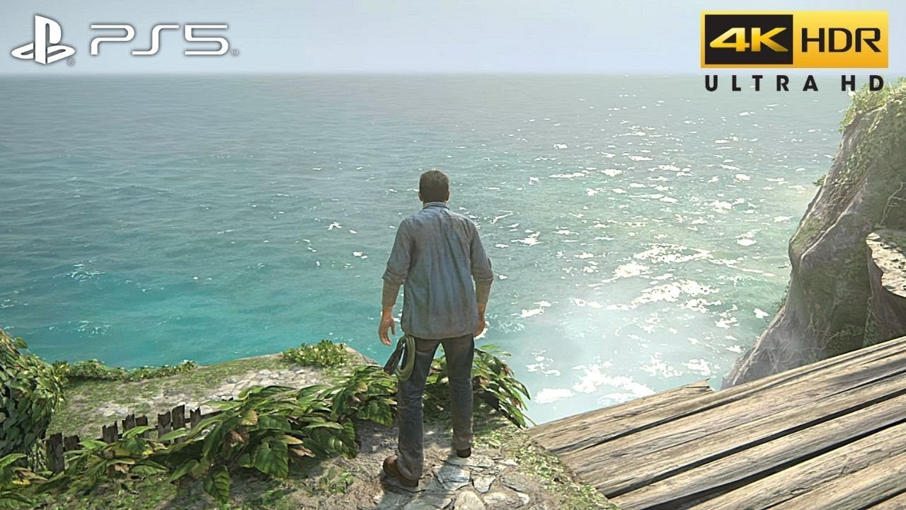 Uncharted 4: A Thief's End (PS5) 4K HDR Gameplay