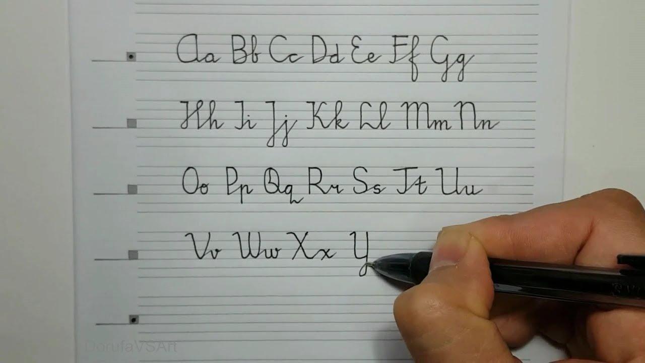 Hasil gambar untuk huruf bersambung