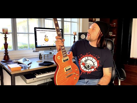 2020 Gibson Les Paul Slash Collection Review AFD Appetite Amber